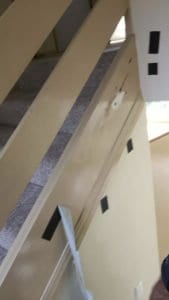 Stair Stringer Damaged By Termites