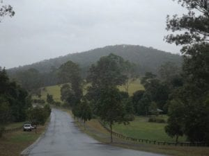Nathanvale Road in Mount Nathan, Queensland