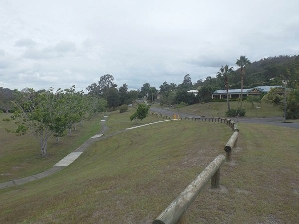 Stolle Park soccer field in Oxenford, Queensland