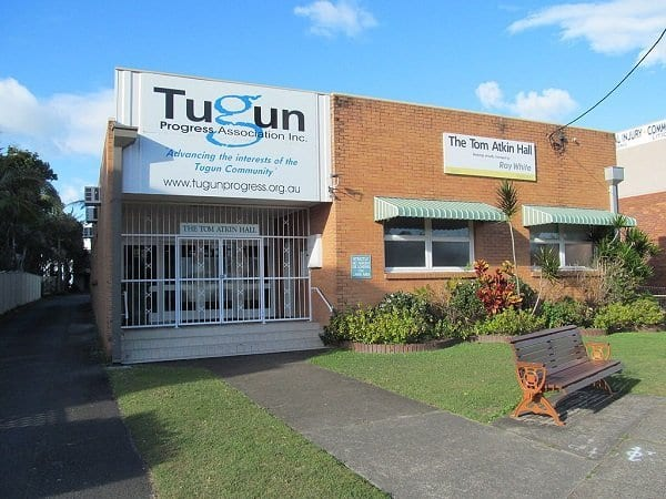 Tugun progress hall
